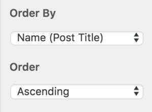 Screenshot of PPI: Order Filter
